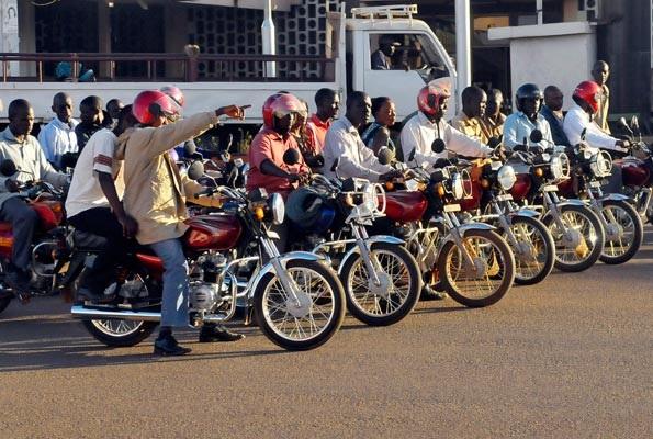 Police Finally Speaks On Boda Rider Who Set Himself Ablaze At Kireka Police