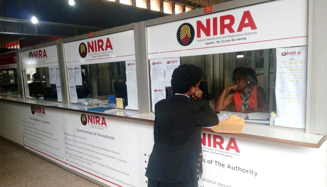 NIRA Signs Agreement With Financial Intelligence Authority To Access National ID Data Base
