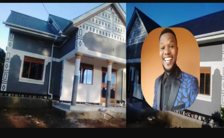 Blogger Ashburg Kato Constructs 'Mega Mansion' For His Parents As He Applauds Museveni For Fulfilling His Biggest Dream