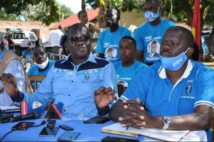 We Are Not In This Election To Win- FDC's Amuriat Excites Voters In Teso