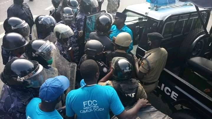 Just In: FDC Patrick Amuriat Oboi Arrested