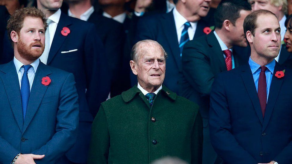 Royal Brothers William And Harry Pen Down Emotional Messages To Grandfather Prince Phillip