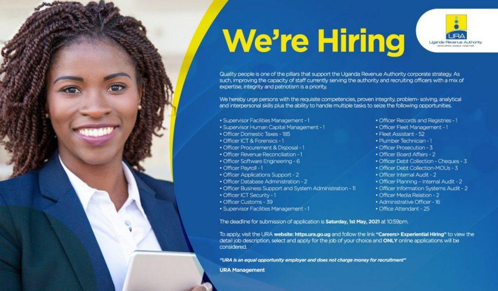 Job Alert: URA Announces Over 376 Juicy Jobs