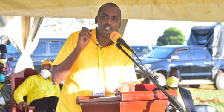 Ignore Bebe Cool's Silent Majority- Minister Frank Tumwebaze Tips NRM MPs In Kyankwanzi