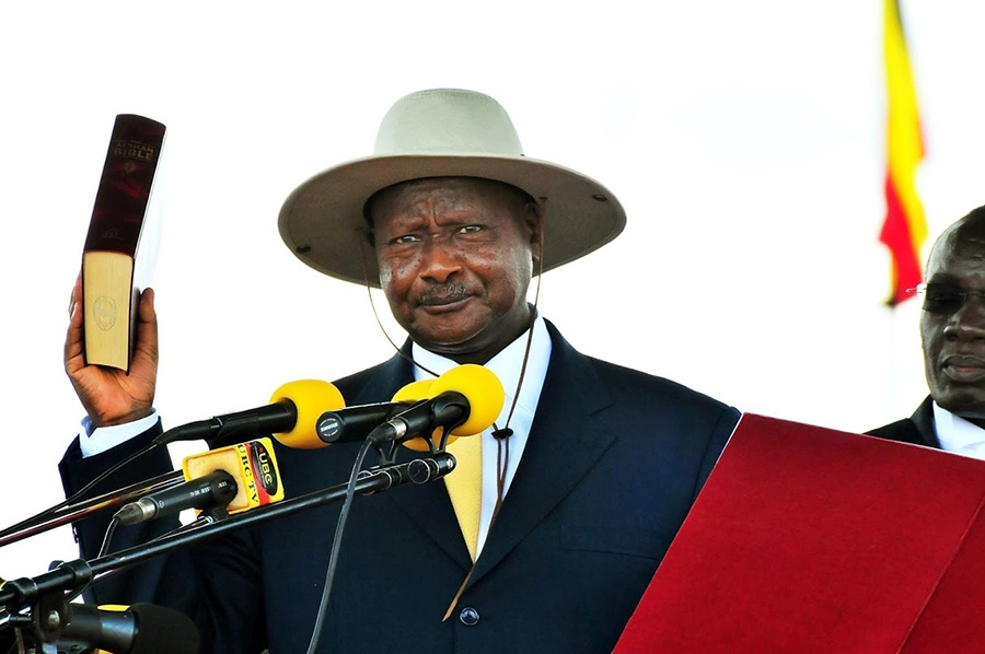 Done Deal: President Museveni Sworn In For His 6th Term In Office