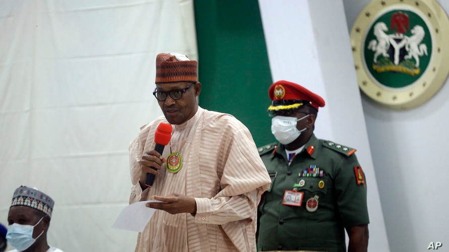 Nigerian Military Backs President Buhari As Plots To Overthrow His Government Intensify