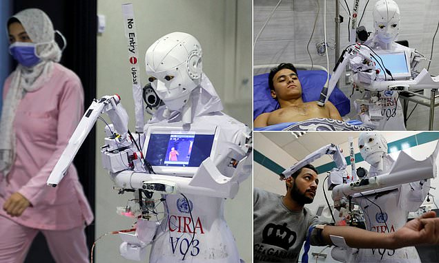 Innovation: Engineer Develops COVID-19 Robot Hospital Assistant To Reduce Exposure During Testing