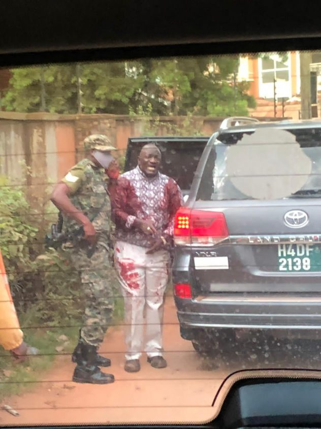 Another Man Was Shot While Recording The Shooting: New Details Emerge On Gen. Katumba's Shooting