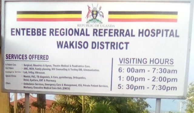 Entebbe Referral Hospital Runs Out Of Space For Covid-19 Patients